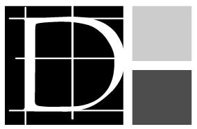 Geom. Delugan Logo Simbolo NERO